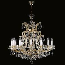 fabulous maria theresa chandelier of crystal chandeliers artglass cz