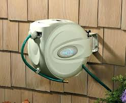 wall mounted garden hose reel marvelous wall mounted garden hose reel mount swivel retractable wall mounted garden hose reel reviews