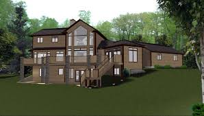 shining country house plans with walkout basement plan a frame stuning home