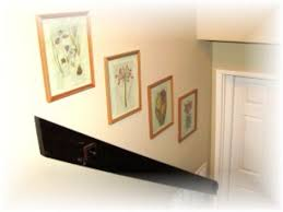 >create hallway wall art cheaply