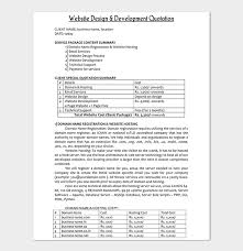 Project Quotation Template - 18+ (Doc & Pdf) - Quote Templates ...