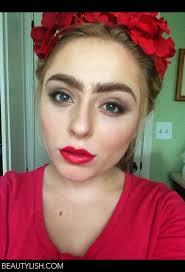 frida kahlo inspired makeup