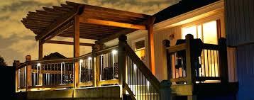 led deck rail lights. Led Deck Lighting Ideas. Outdoor Down Lights Under Rails Ideas Rail R