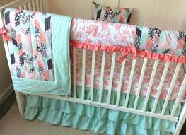 girl baby bedding crib set in c blush pink teal turquoise aqua mint watercolor fl shabby chic nursery target gold ideas