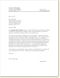employment cover letter format cover letter for employment 1