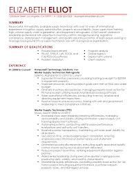 computer field service technician resume resume examples technology professional resume summary professional experience as cable technician and education in
