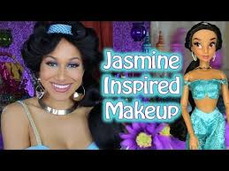 princess jasmine makeup tutorial