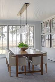contemporary dining room lighting. take a close look at three modern interiors that use nicheu0027s multipendant linear canopies find this pin and more on dining room lighting contemporary n