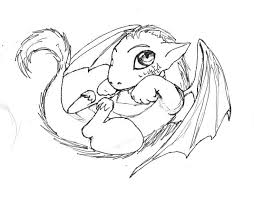 Small Picture Impressive Baby Dragon Coloring Pages Best Col 6939 Unknown
