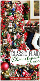 Plaid Christmas Tree 199 Best Christmas Trees Images On Pinterest Christmas Decor