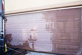 garage door makeover before photo 1