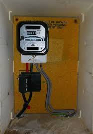 eec247 guide to dealing an electrical emergency inside the cupboard the incoming supply main fuse and analogue meter