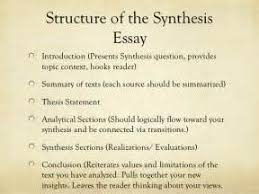 explanatory synthesis essay thesis