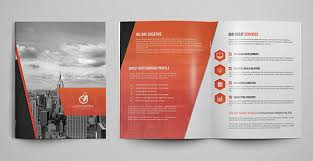 2 Folded Brochure Template 2 Fold Flyer Template Faveoly