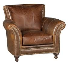 Classic Traditional Brown Leather Chair - Butler | RC Willey Furniture Store