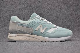 high quality new balance ml997haf quality leather walking shoes sky blue men s women s running shoes
