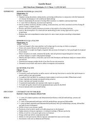 Qa Analyst Senior Resume Samples Velvet Jobs