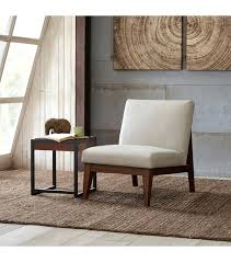 armless accent chair low off white slat back accent chair armless accent chairs bedroom