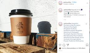 This big fruit forward coffee is really light roasted to bring out the big fruit notes!! 7 La Black Owned Coffee Shops To Fulfill All Of Your Caffeine Needs