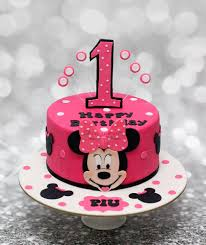 Minnie Mouse Birthday Cake Asda Sheet Ideas 1st Design 3rd Topper