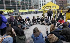 thank you anarchists the nation occupy wall street protesters hold a general assembly meeting inside an enclosed site near canal street on tuesday 15 2011 ap photo seth wenig