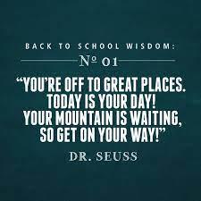 Back to School Quote | Back to School Wisdom | Back to school quotes,  School quotes, Middle school quotes