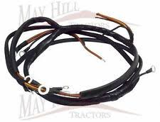 ferguson wiring loom antique tractor parts accs ferguson tef 20 diesel tractor wiring loom harness 812