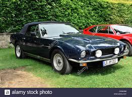 aston martin v8 classic. aston martin v8, built in 1980, vintage car, retro classics meets barock 2012, ludwigsburg, baden-wuerttemberg v8 classic