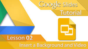 google slide backgrounds google slides tutorial 02 insert a background and video youtube