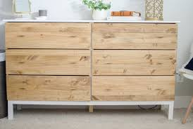 diy ikea tarva dresser. Diy Bedroom Dresser Ikea Tarva Hack 6 Drawer In Prepare