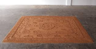 installation time lapse red dirt rug at cur studio oklahoma city ok