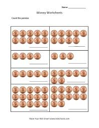Counting pennies worksheet full icon 9 – helendearest