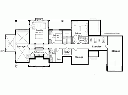 Eplans Shingle House Plan   Spacious L shaped Floor Plan      Basement