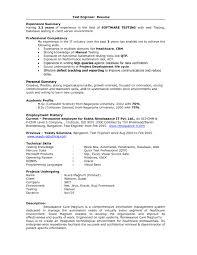 1 Year Experience Resume In Java J2ee Virtren Com