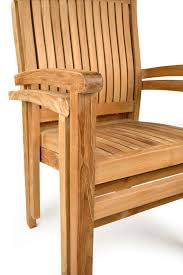 oxford teak stacking chairs grade a
