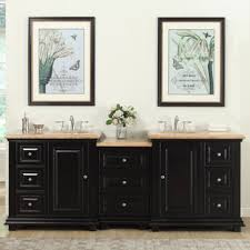 stylish modular wooden bathroom vanity.  Vanity Silkroad Exclusive 905inch Travertine Stone Top Bathroom Double Sink  Modular Vanity  White Throughout Stylish Wooden