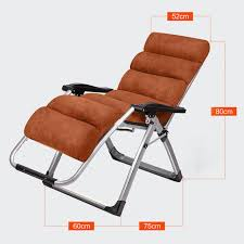 office recliner chair. 2017 New Outdoor Or Indoor Adjustable Nap Recliner Chair Office Folding Deck Beach With Steel Pipe Frame 4 Colors