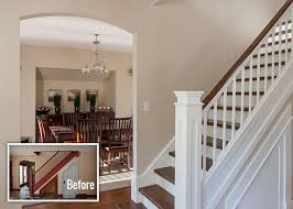 Image result for white doors painted frames before and after