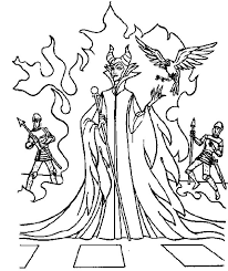 Small Picture Maleficent Appears at Kings Palace Coloring Pages Color Luna