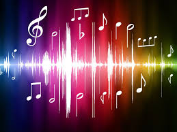 Music notes background, Music wallpaper ...