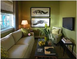 decorate around beige sofa green walls
