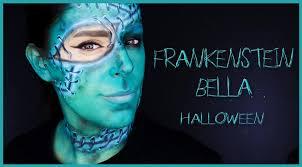 maquillaje frankenstein bella face paint