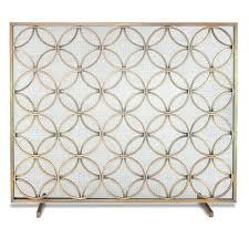 single panel fireplace screen single panel fireplace screen burnished brass single panel fireplace screen canada