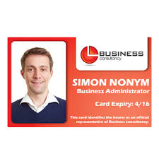Business Id Template Staff Id Cards Id Badges Photo Id Cards
