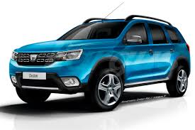 2018 renault duster. fine 2018 dacia duster rendering by largus for 2018 renault duster
