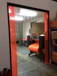 Common Strip Doors with Standard Hardware - Strip-Curtains.com