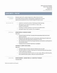 Ministry Resume Ministry Resume Templates New Download Pastoral Resume Resume 27