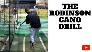 Robinson Cano Drill - YouTube