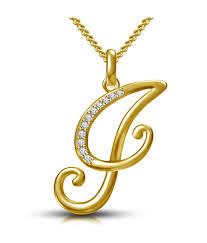 kataria jewellers letter j gold plated 92 5 sterling silver and swarovski alphabet initial pendant kataria jewellers letter j gold plated 92 5 sterling
