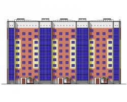 pgs diplom ru дипломные проекты по многоэтажным жилым домам  Проект №2 3 9 и этажный жилой дом с подземным гаражом в